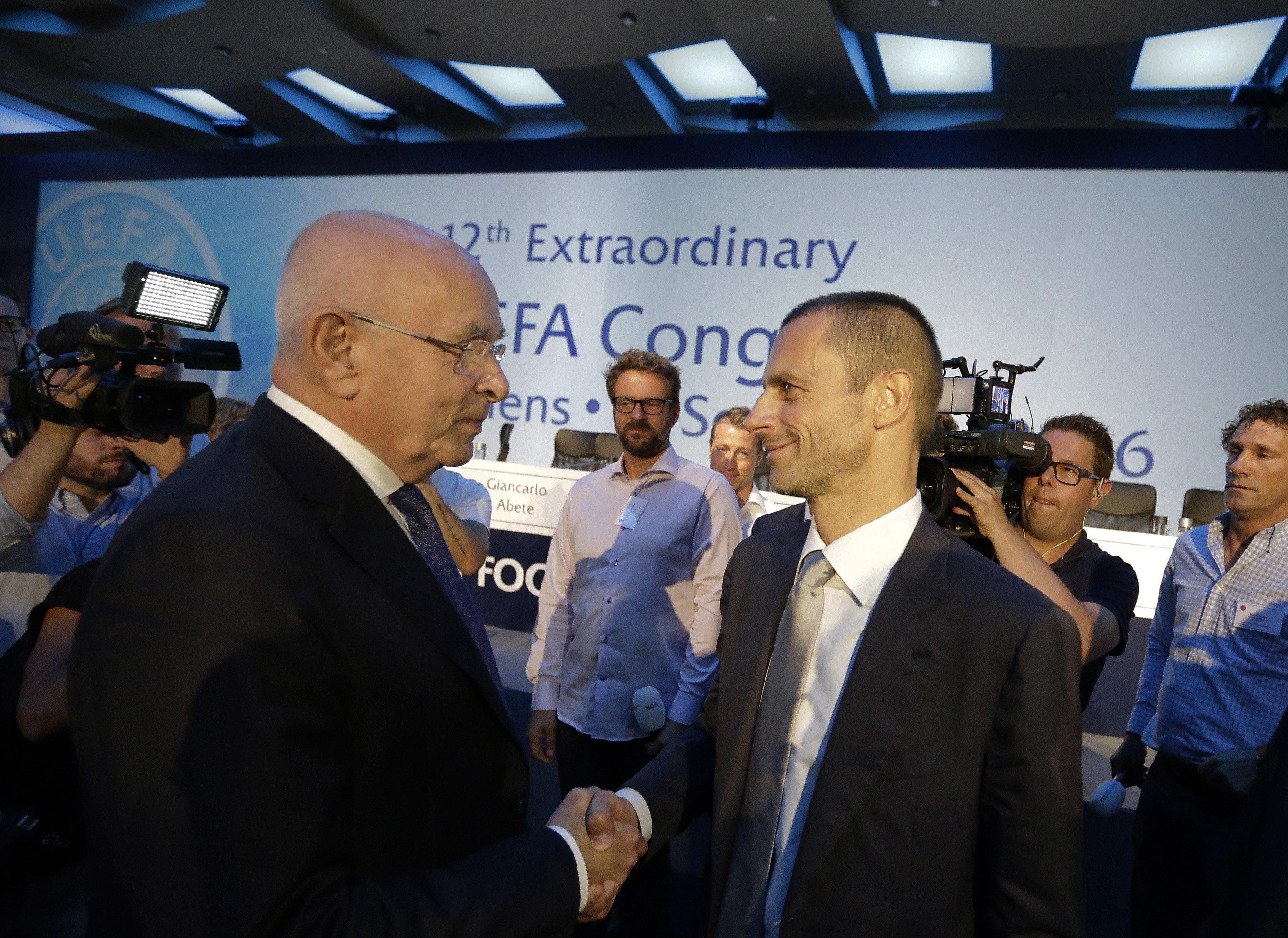 Новый глава УЕФА Чеферин: человек, который обещает и делает