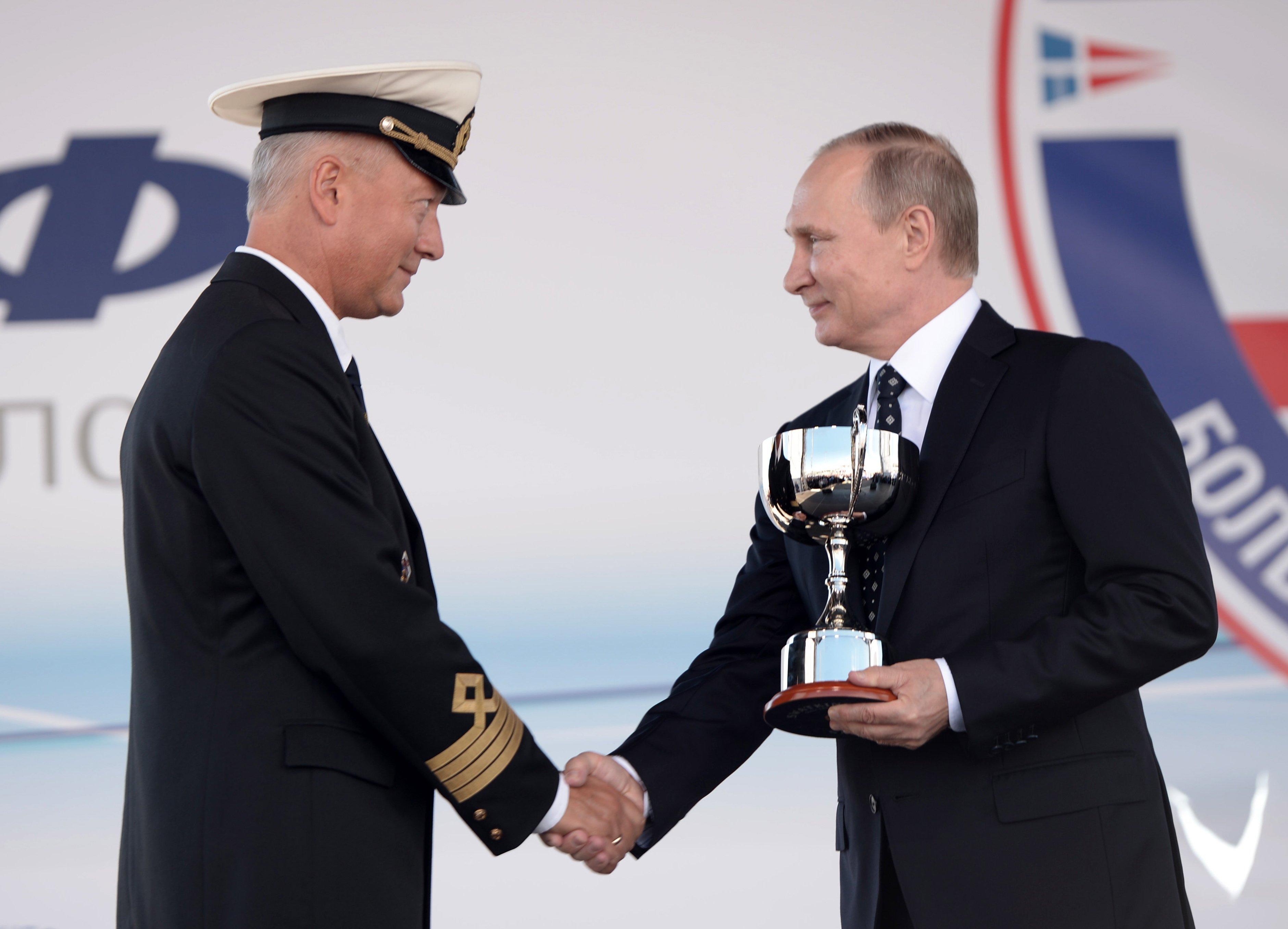Путин пожелал семь футов под килем экипажам Черноморской регаты