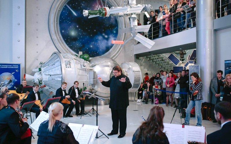 Композиторы вышли в «Открытый космос»