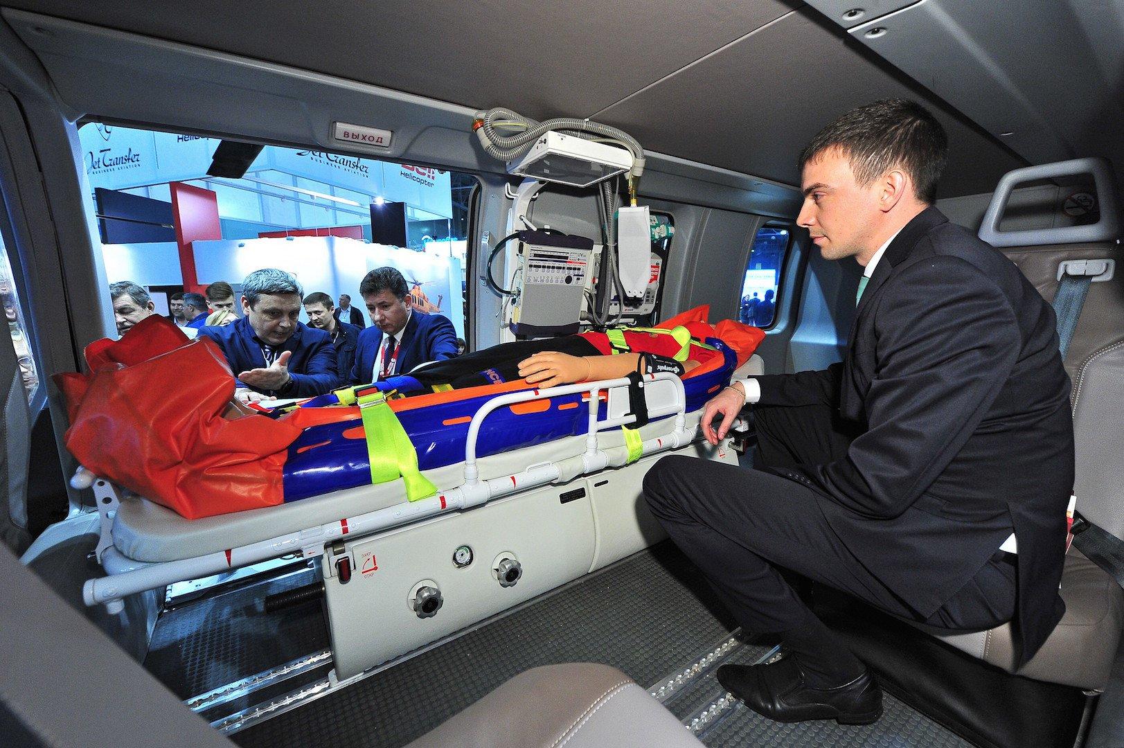 Татарстан получил первый медицинский вертолет «Ансат»