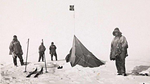Амундсен: движение к точке, противоположной мечте