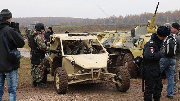 Российский спецназ пересядет на багги от «Чеченавто»