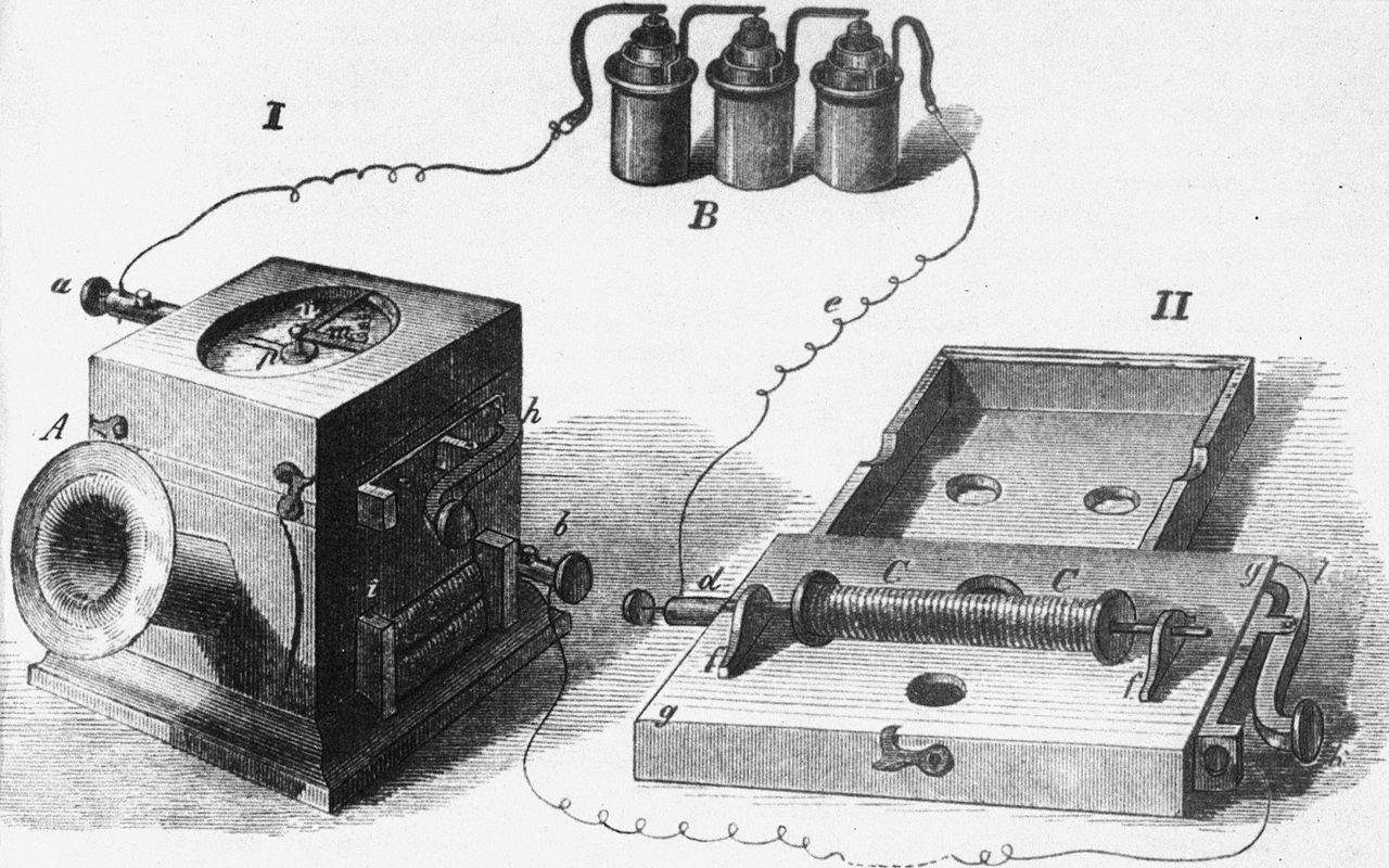 От Telephon к телефону: изобретения через вдохновение