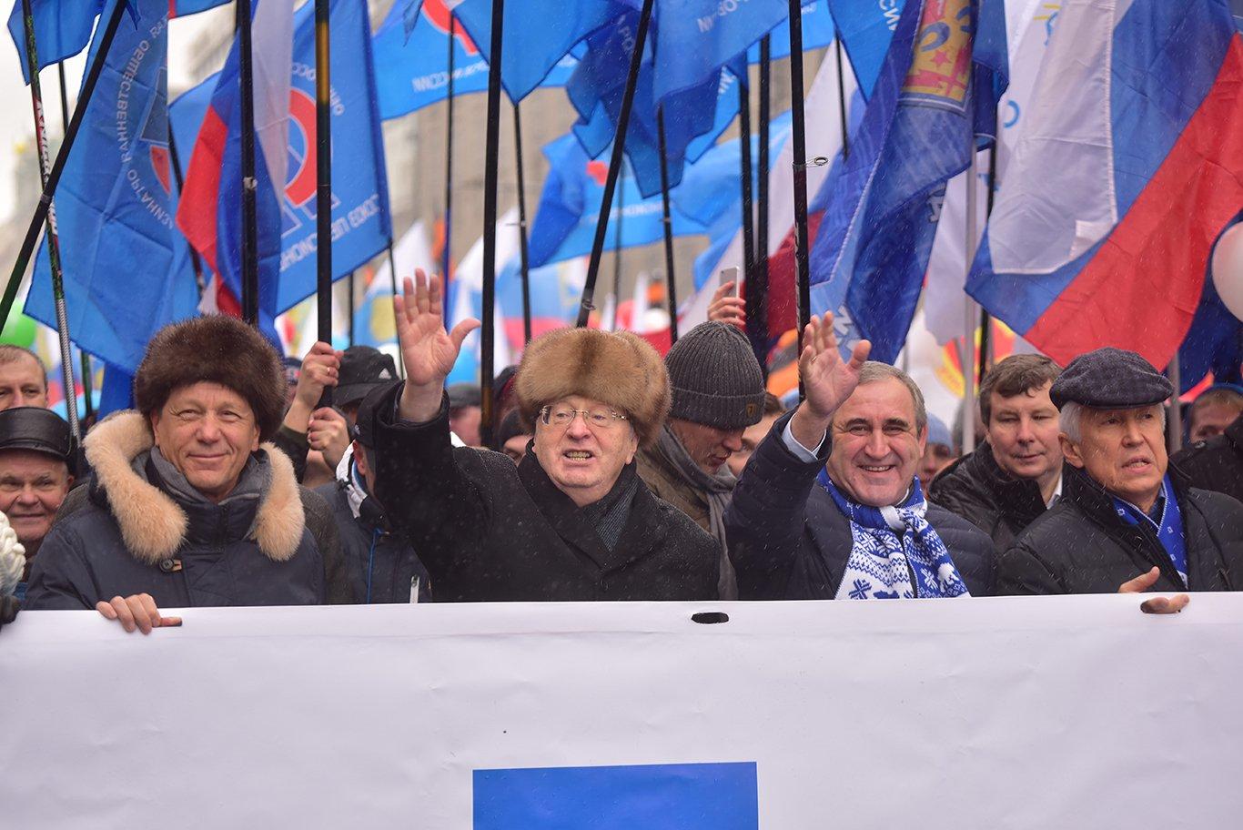 80 тыс. человек пришли на шествие в День народного единства в Москве