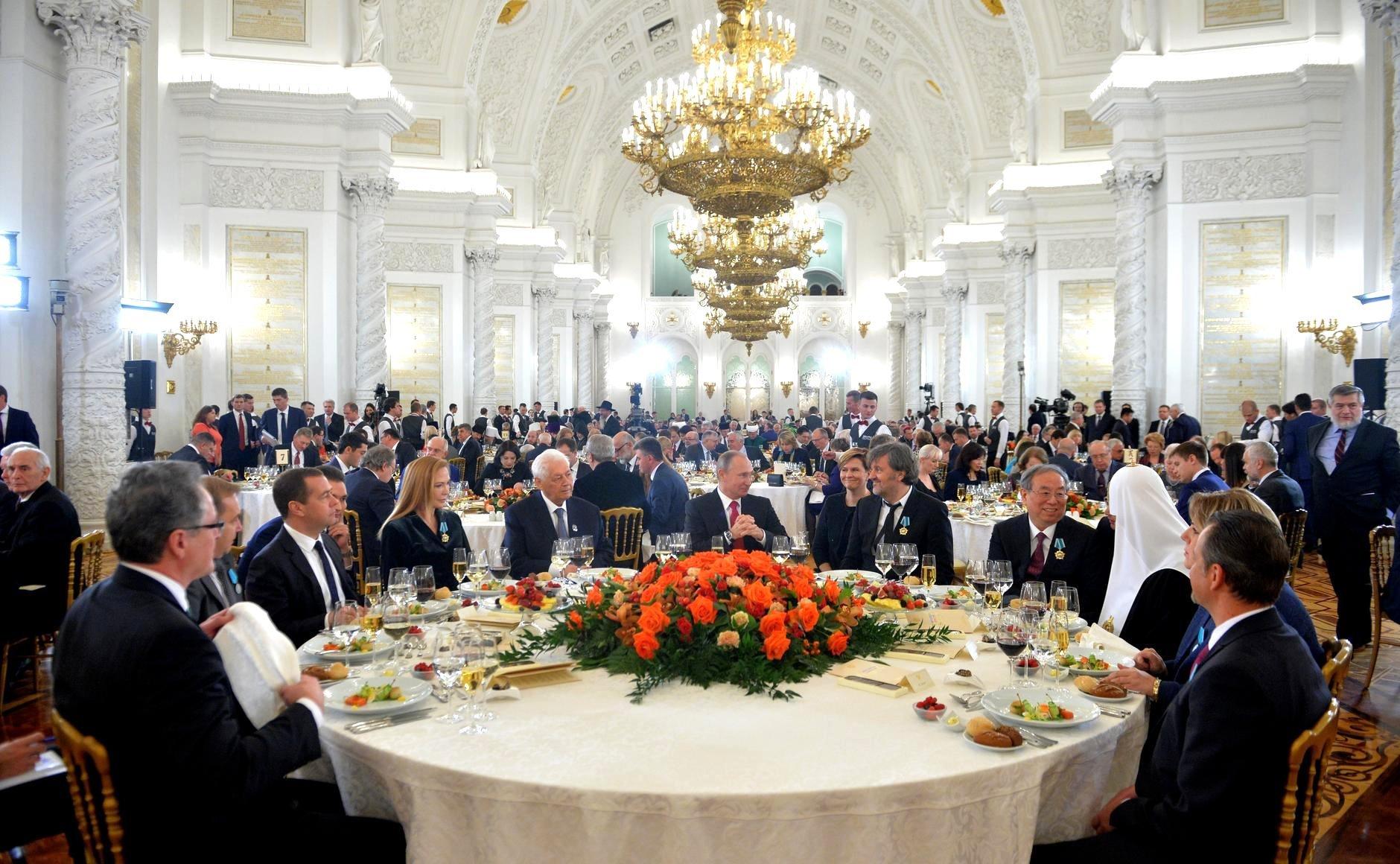 В Кремле вручили награды за любовь к русской культуре