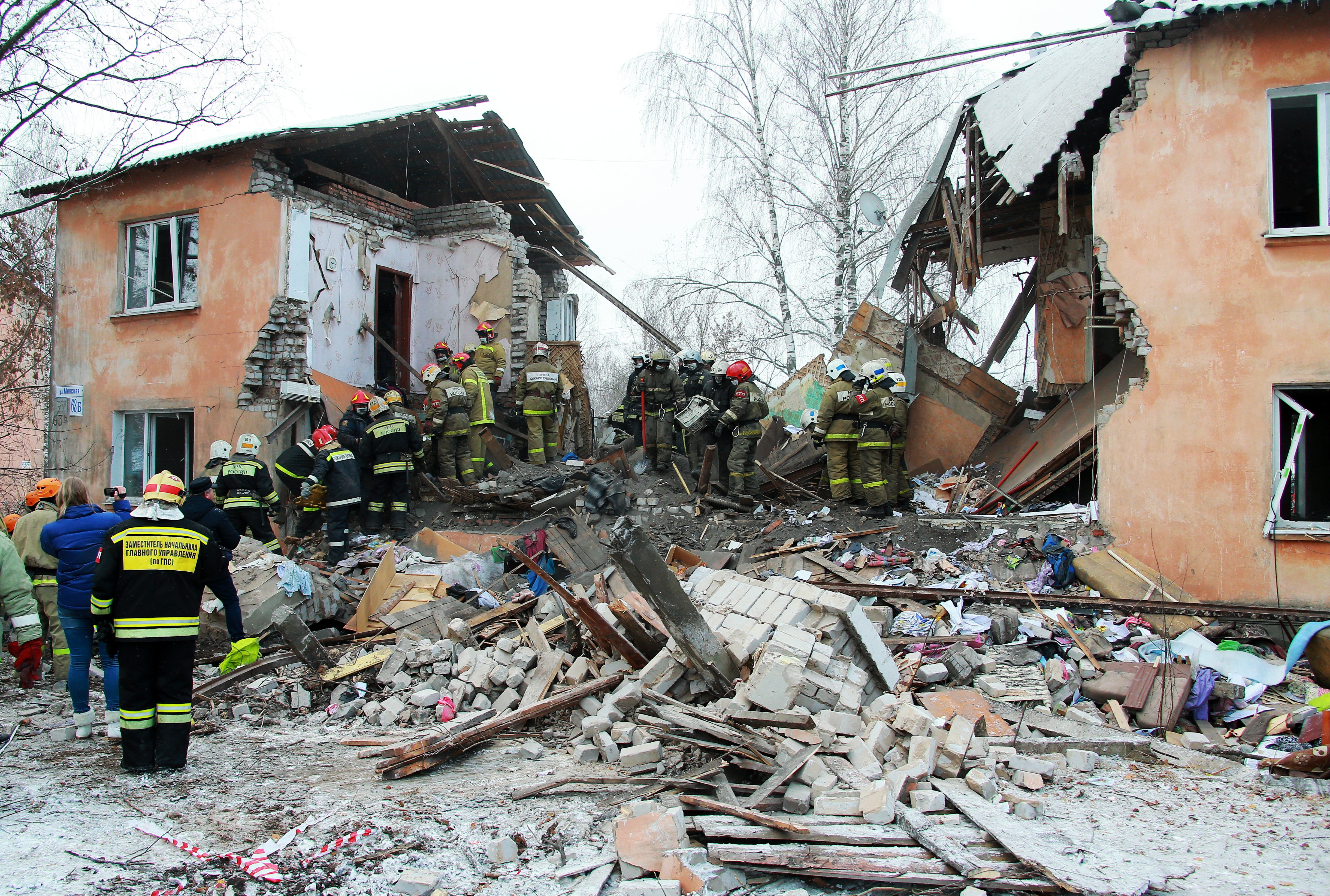 Взрыв бытового газа в Иваново унес жизни шести человек