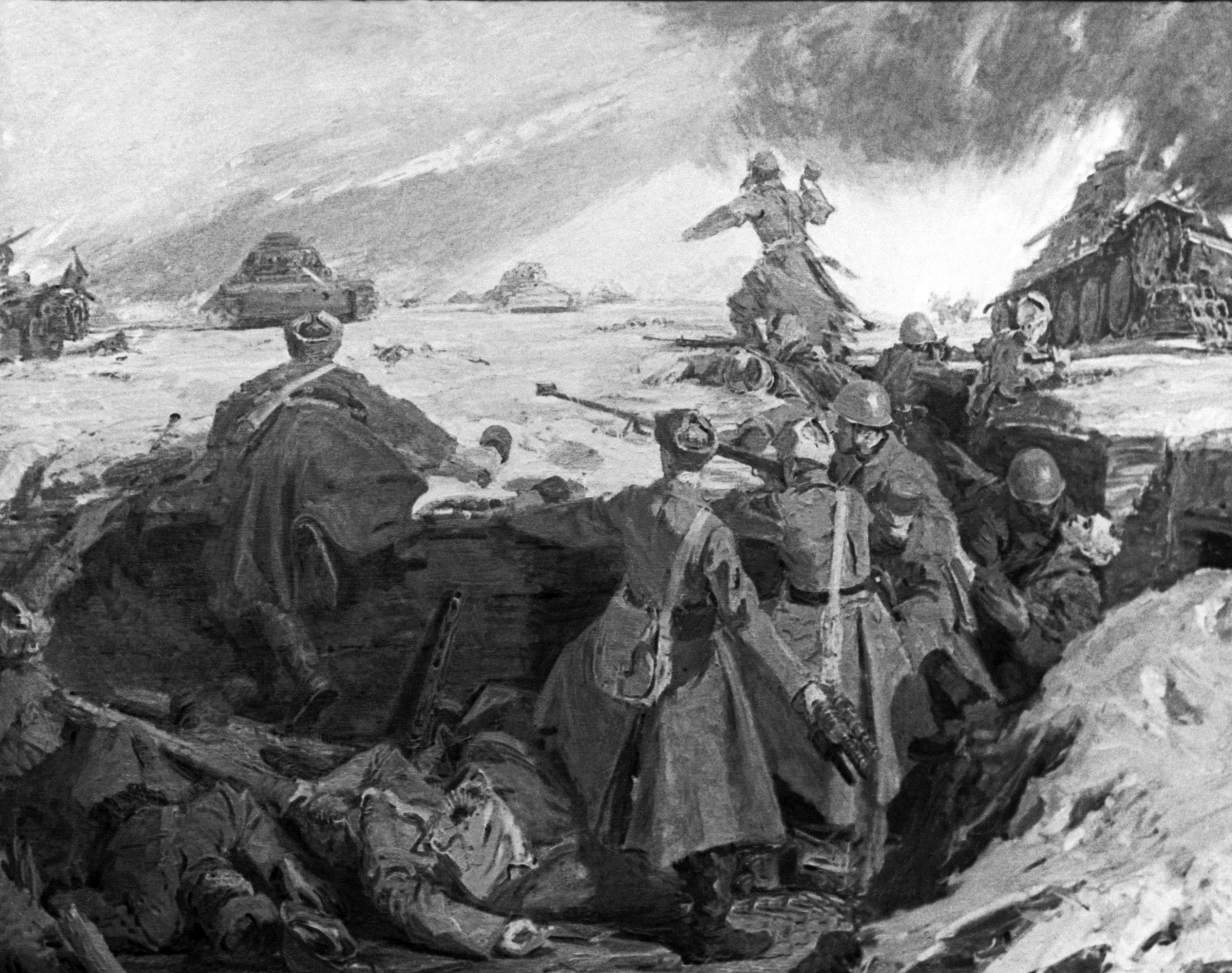 Бой у разъезда Дубосеково: подвиг, который не ставят под сомнение
