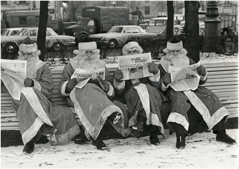 Здравствуй, Дедушка Мороз, борода из ваты!