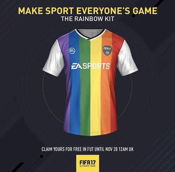 Игру FIFA 17 проверят на пропаганду гомосексуализма