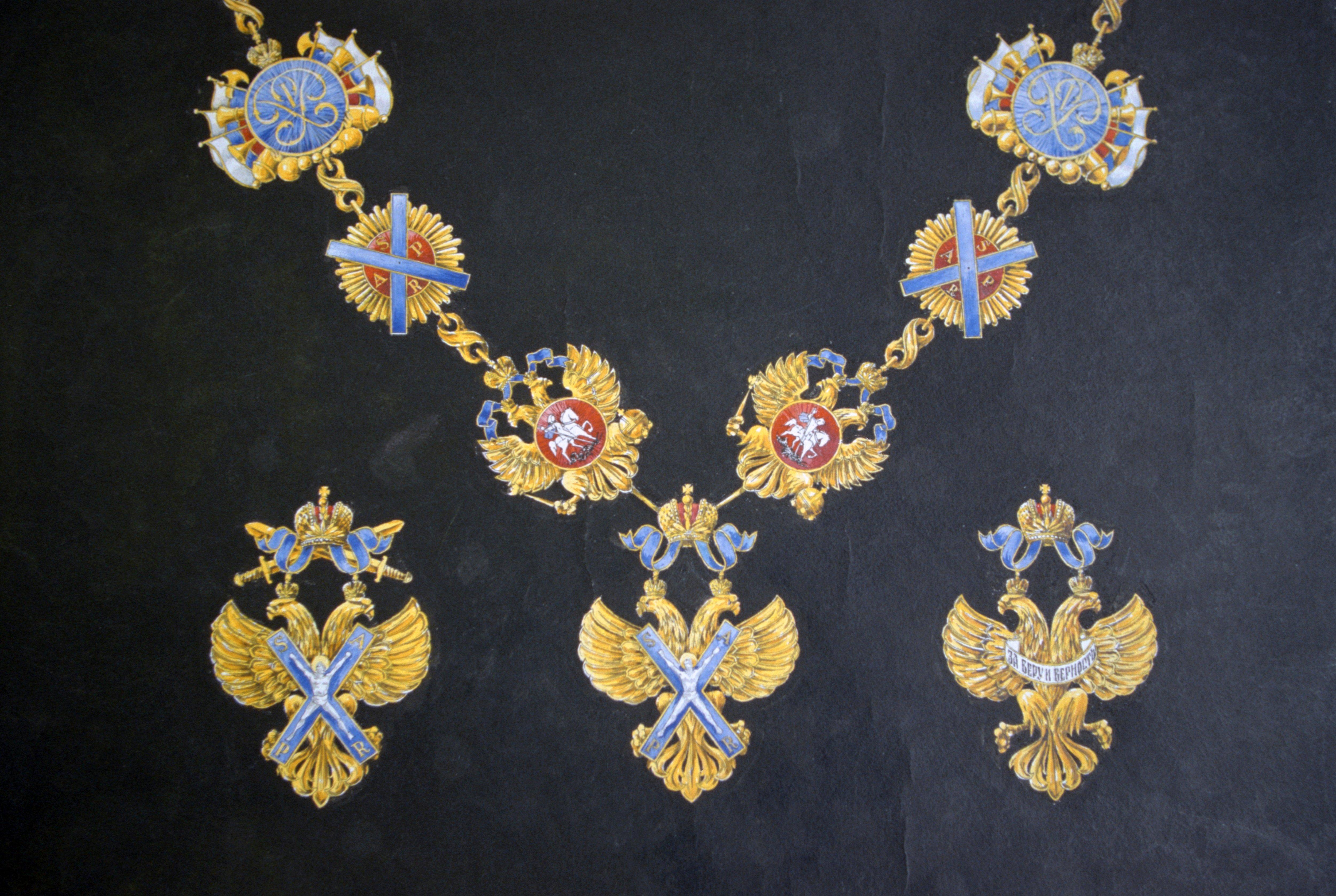 Орден Андрея Первозванного: святые мученики, герои и военные