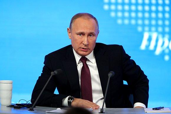 О чем говорил Владимир Путин на пресс-конференции