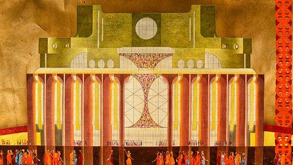 Театр в разрезе