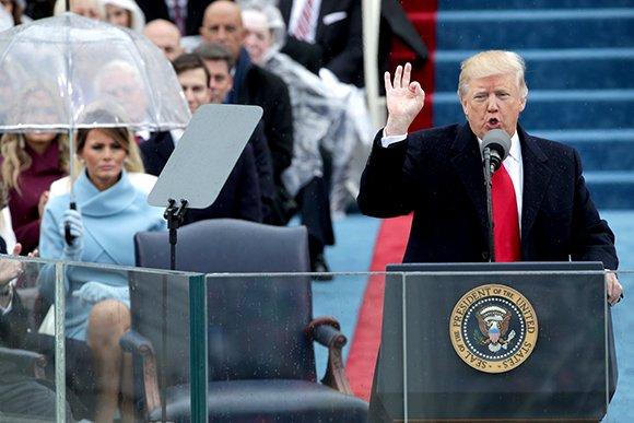 Как проходила инаугурация Дональда Трампа. Хроника событий