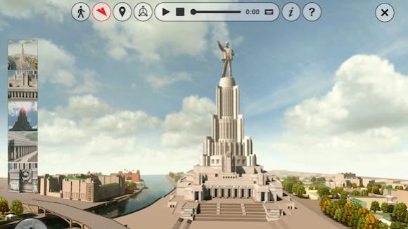 Русскую архитектуру покажут миру в 3D
