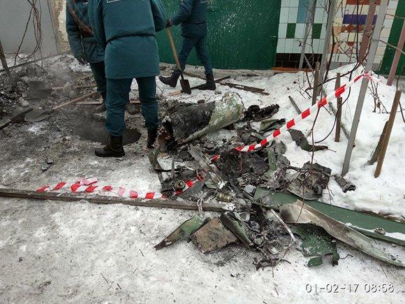 Донецк в огне