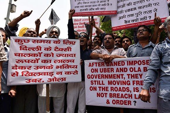В булочную на такси: почему дешевые сервисы привели к протестам