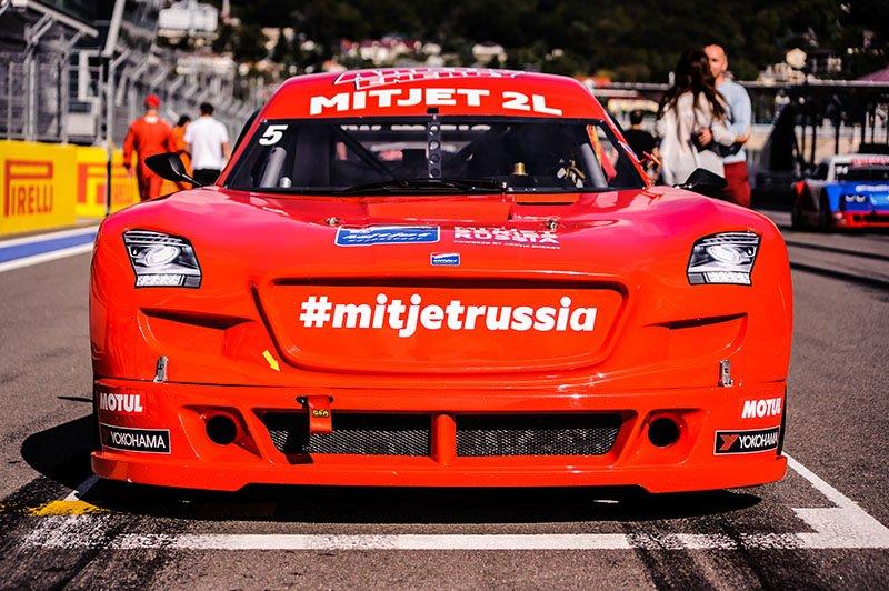 МитДжет «разогреет» «Формулу-1» в Сочи