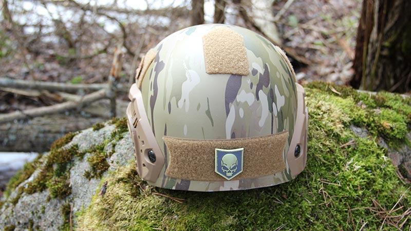 Спецназ ФСБ получил ультралегкий сверхпрочный шлем