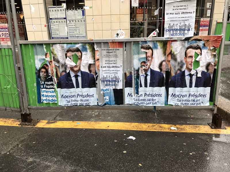 Во Франции объявлен «день тишины» перед президентскими выборами