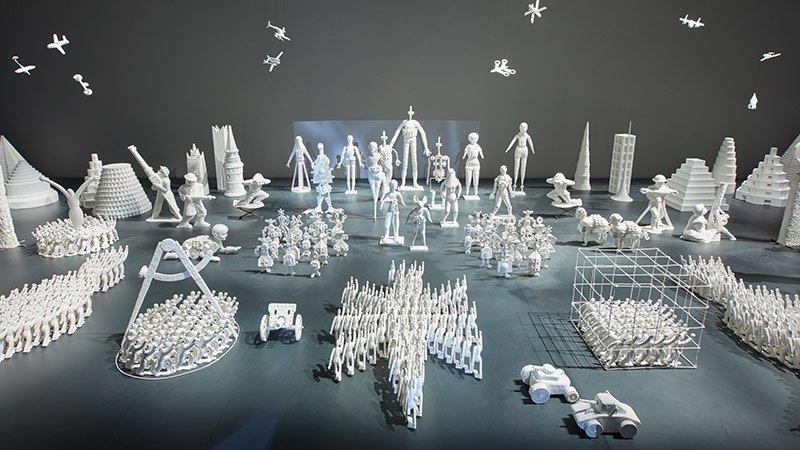 Русские художники привезли в Венецию Антарктиду