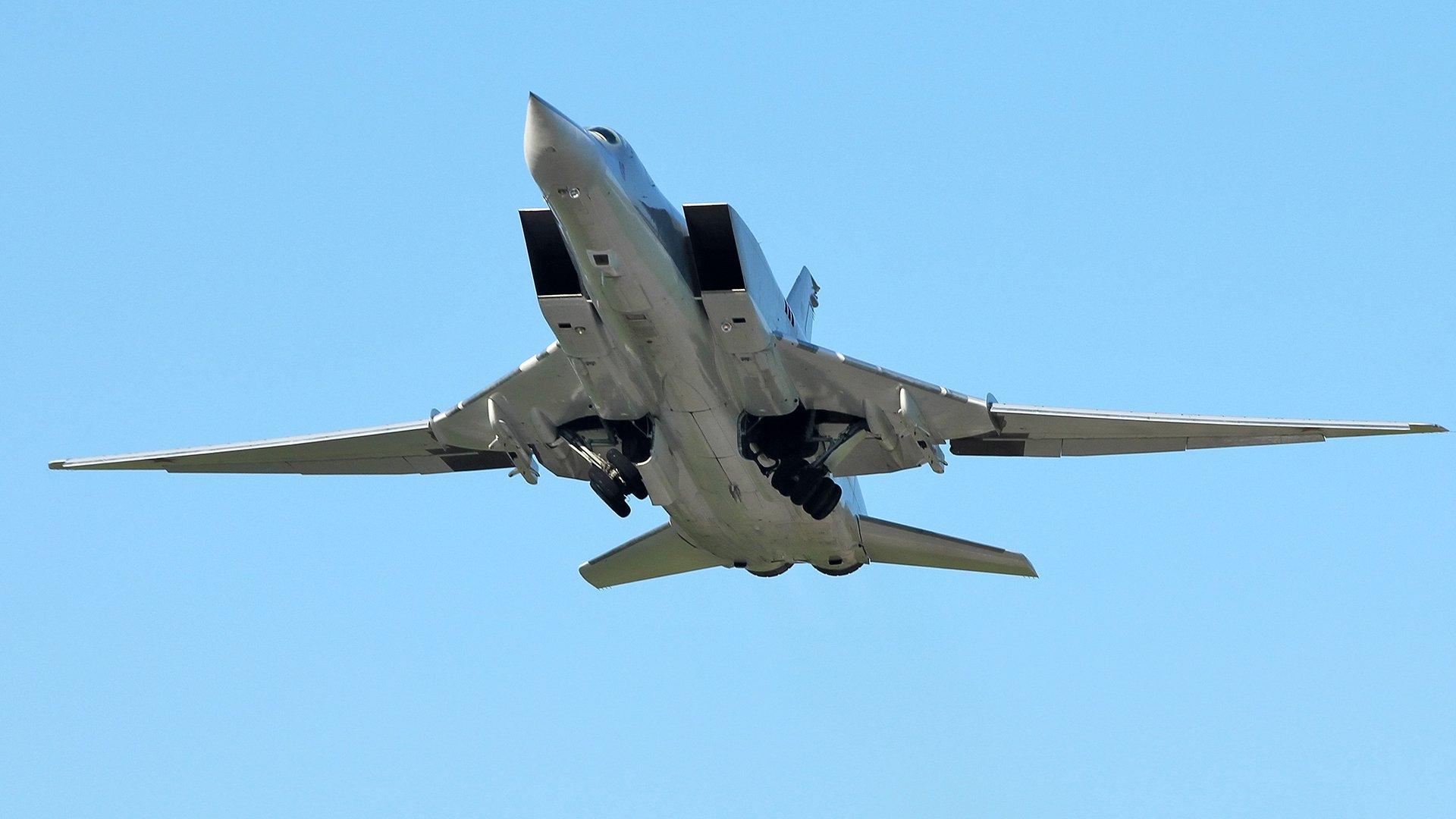 Обои Ту-22м3, сверхзвуковой, ракетоносец-бомбардировщик. Авиация foto 15