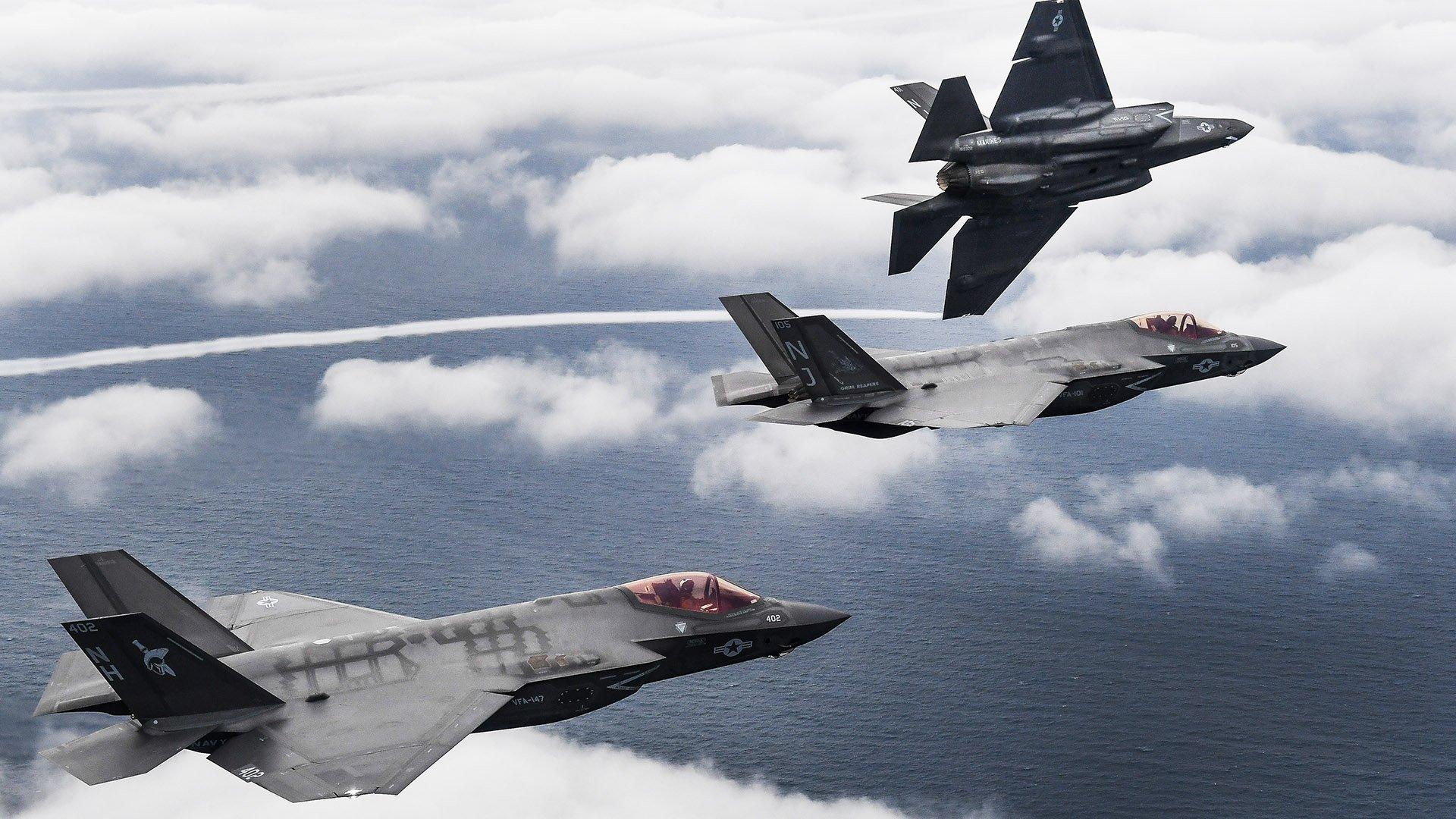 Обои F-35, Самолет 5 поколения, истребитель пятого поколения. Авиация foto 10