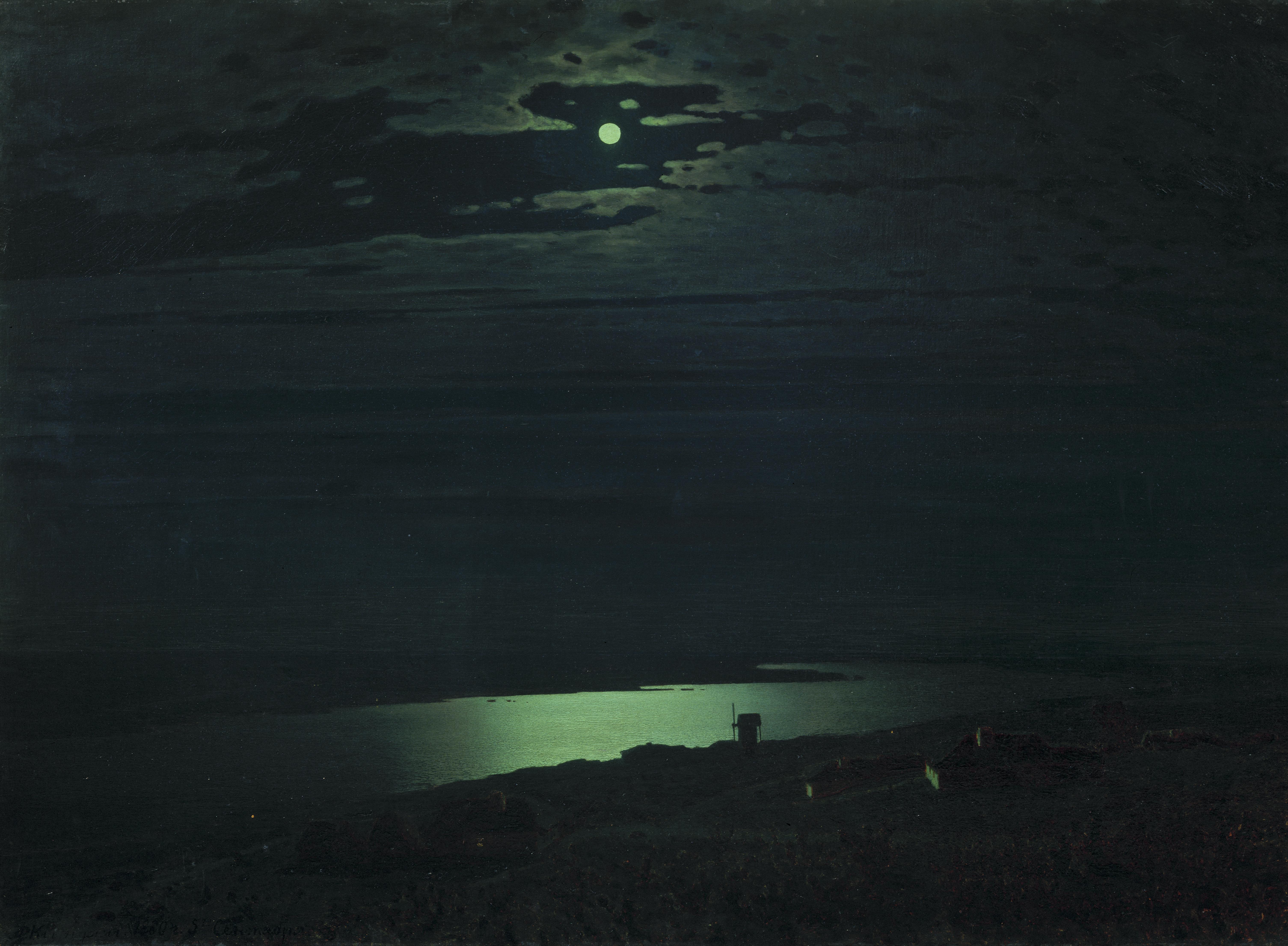 А. Куинджи. Лунная ночь на Днепре