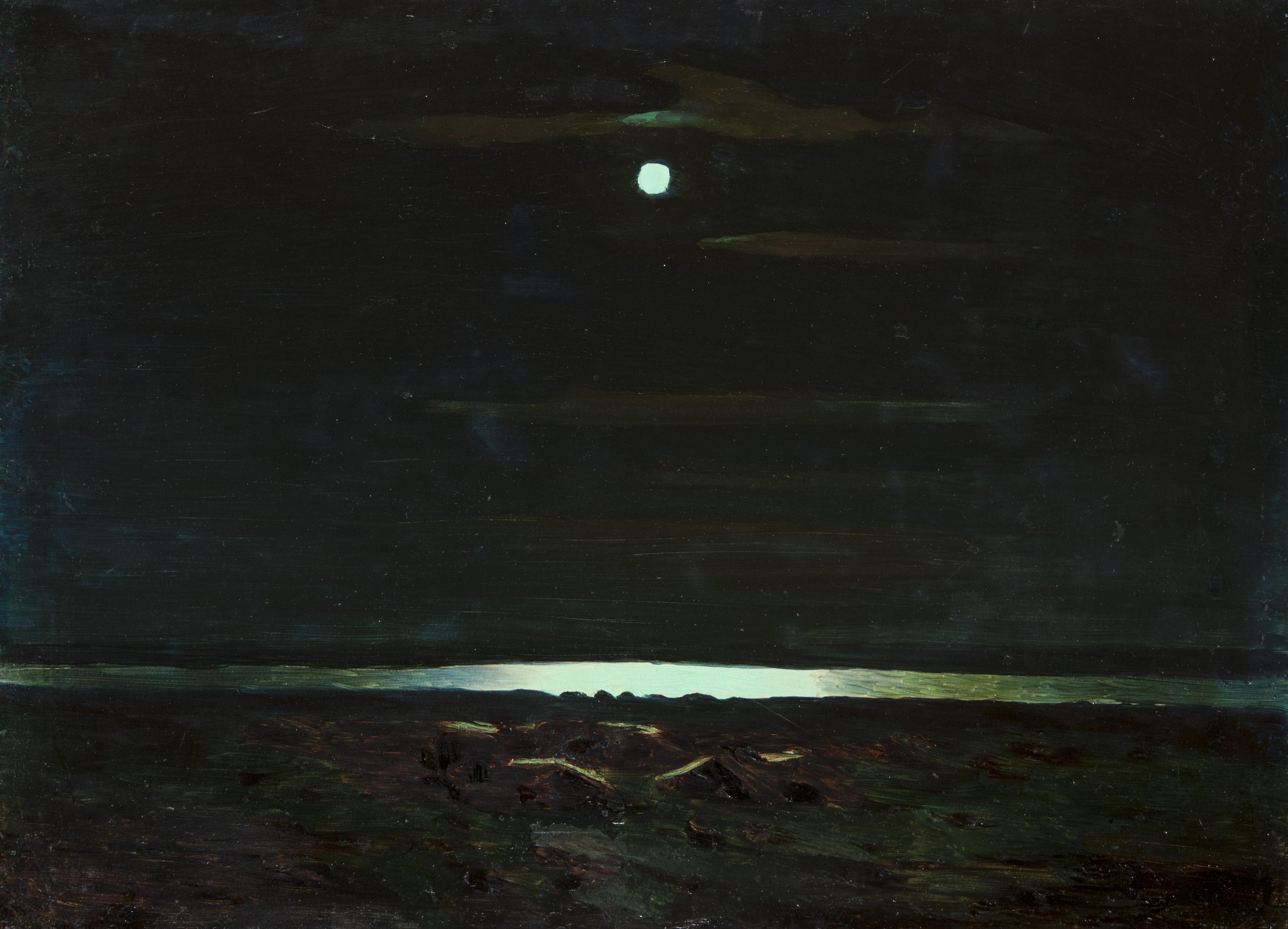А. Куинджи. Ночь на Днепре