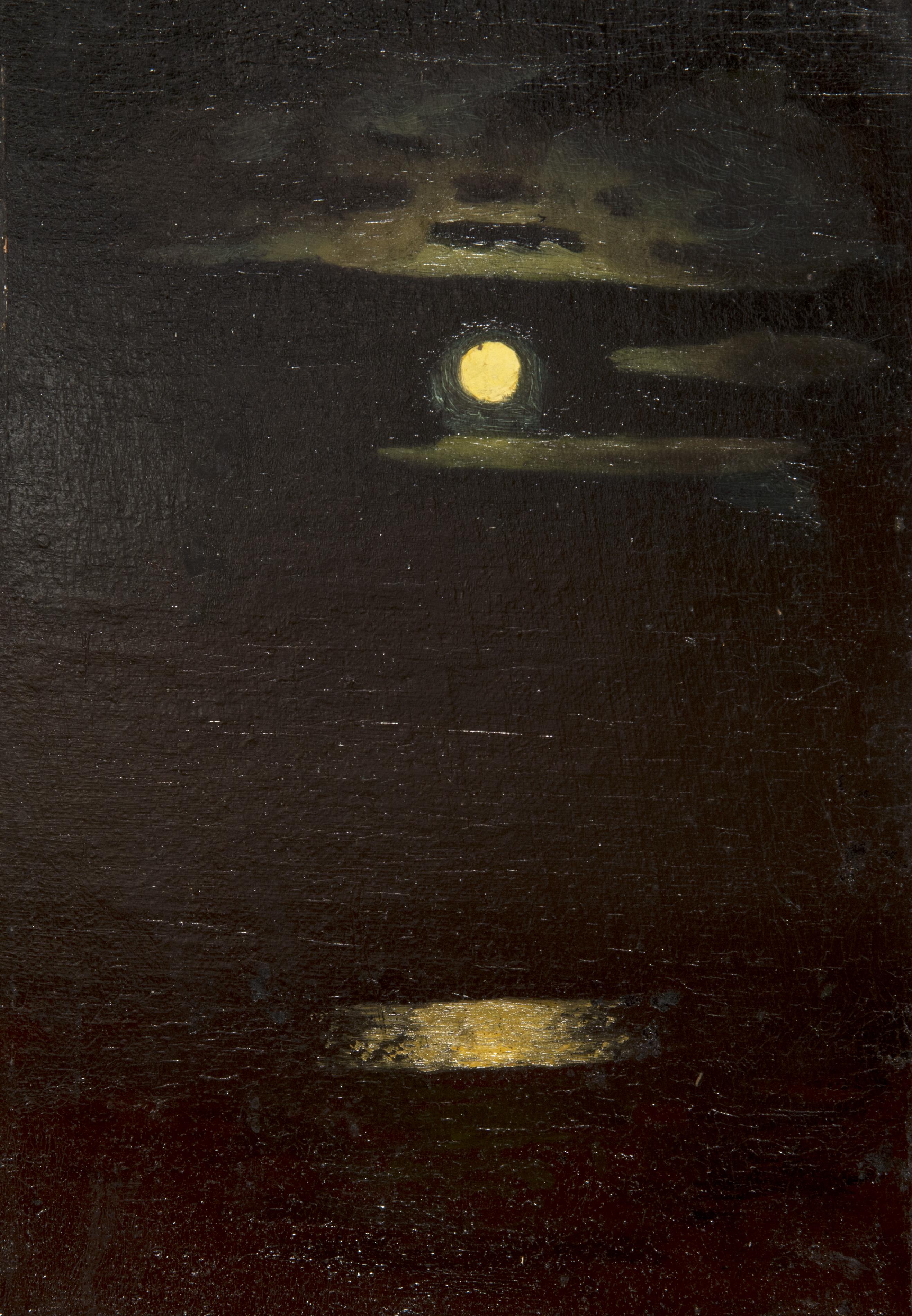 А. Куинджи.Лунная ночь