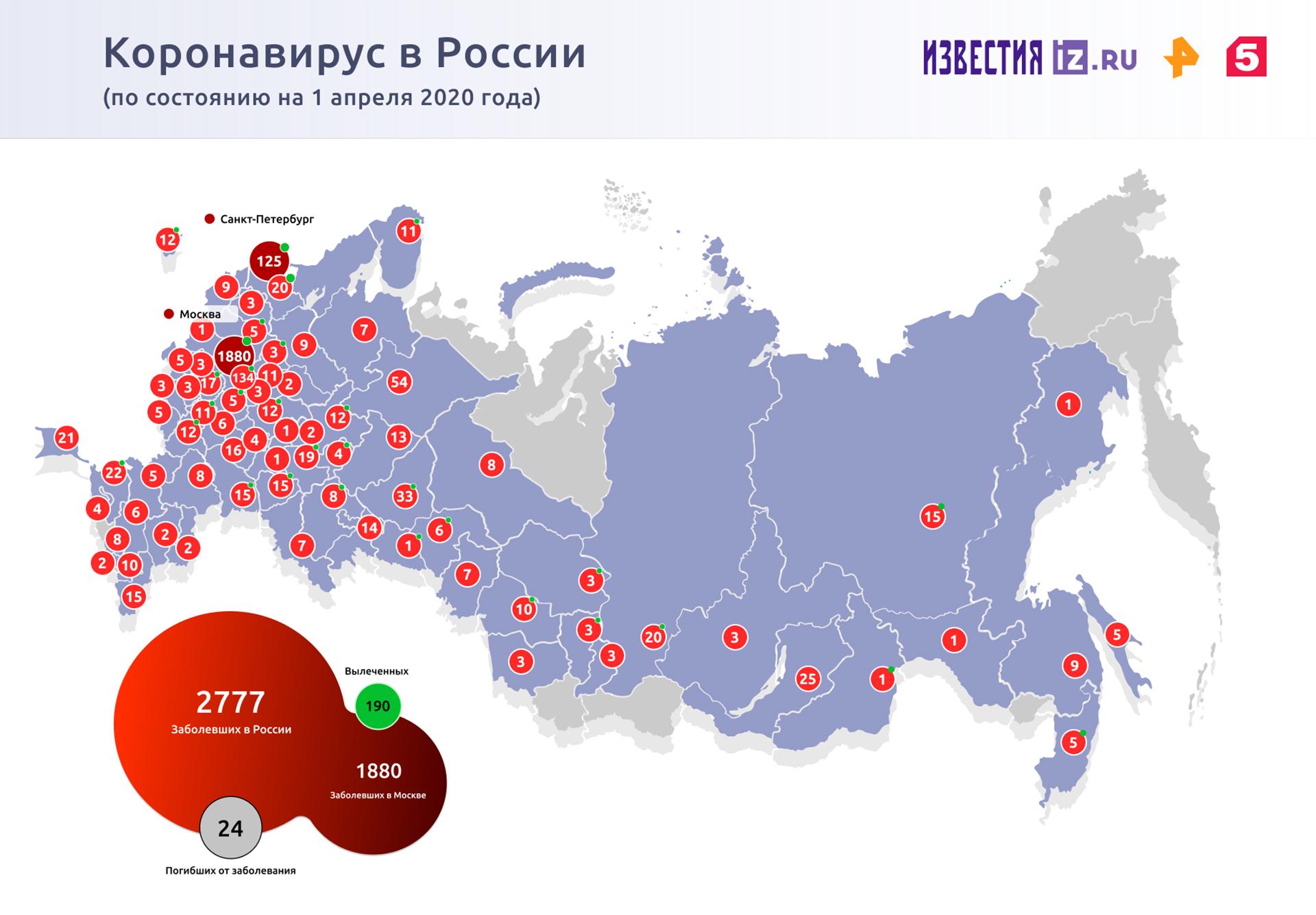 Семь регионов России ограничили движение по своей территории