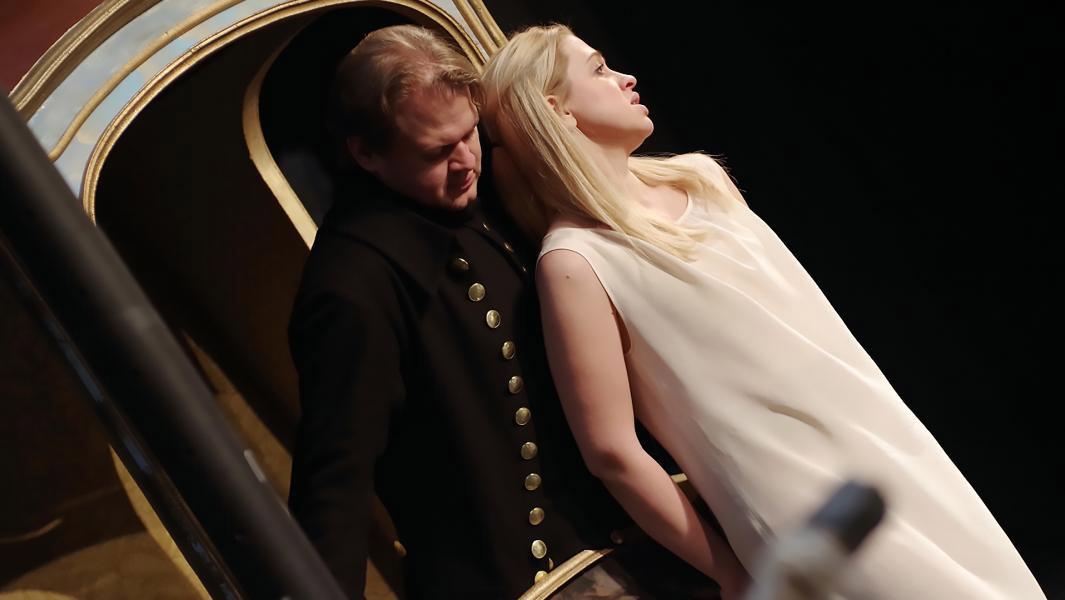 Сцена из оперы «Влюбленный дьявол»