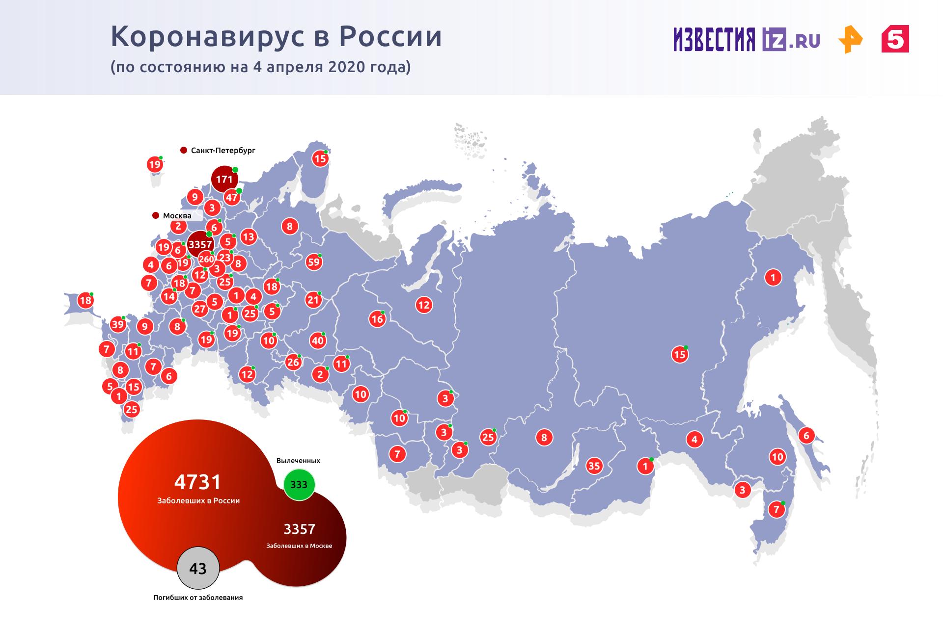 Почти половина из 434 заболевших коронавирусом в Москве младше 45 лет