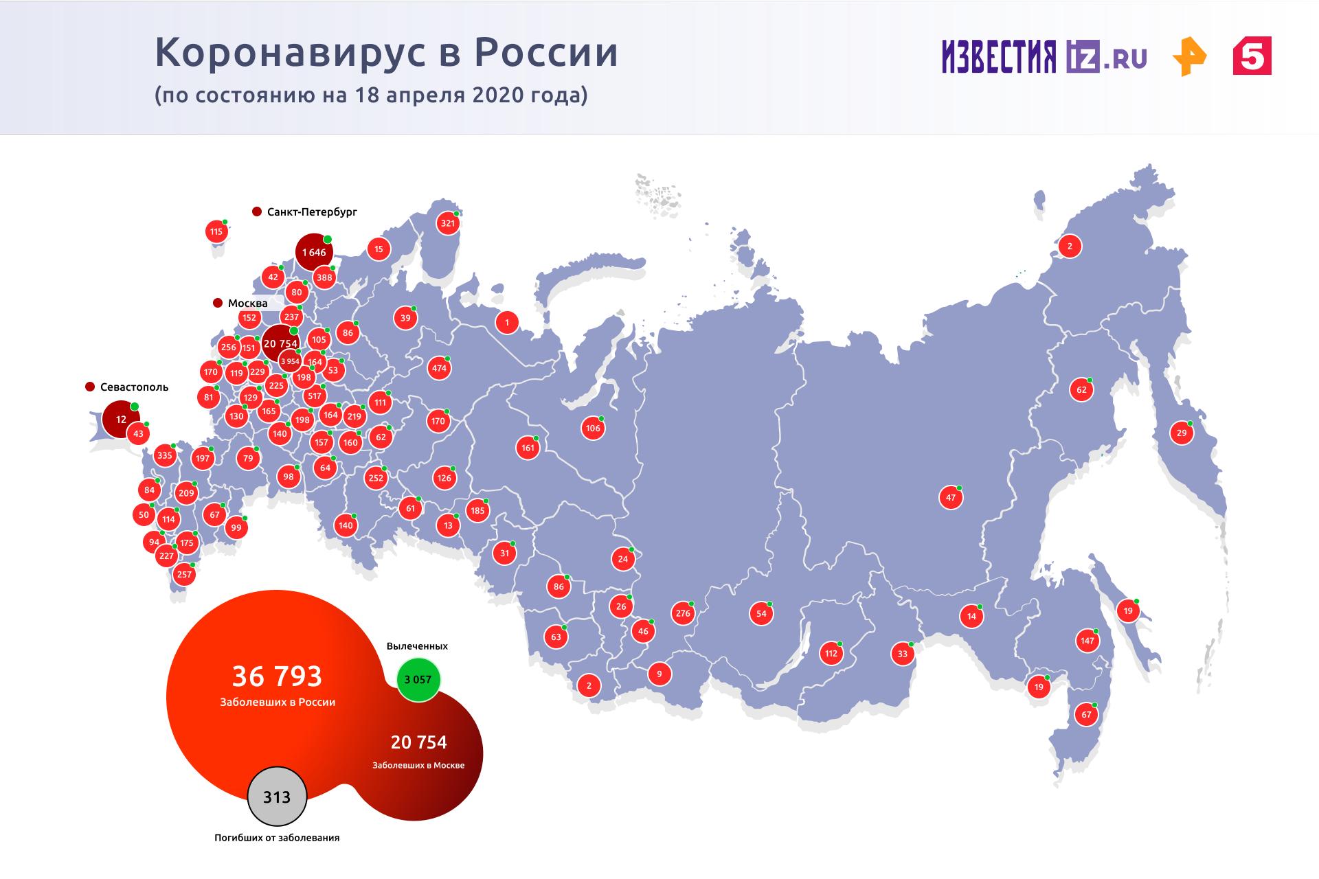 В Москве значительно возросла доля бессимптомных больных коронавирусом