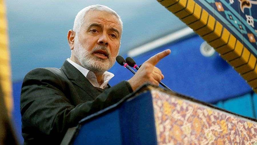 Лидер ХАМАС выступил против «сделки века» | Новости | Известия | 28.01.2020