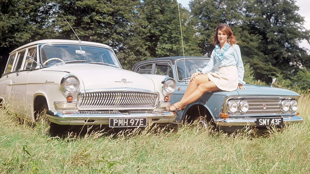 и фото москвича волги