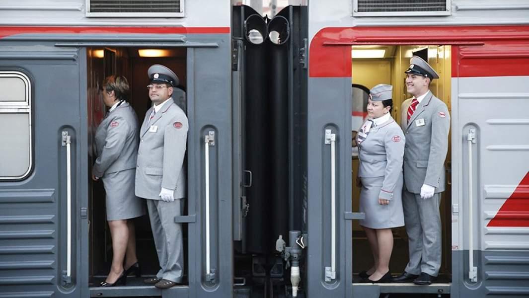 очень фото проводниц поезда компании ржд это только