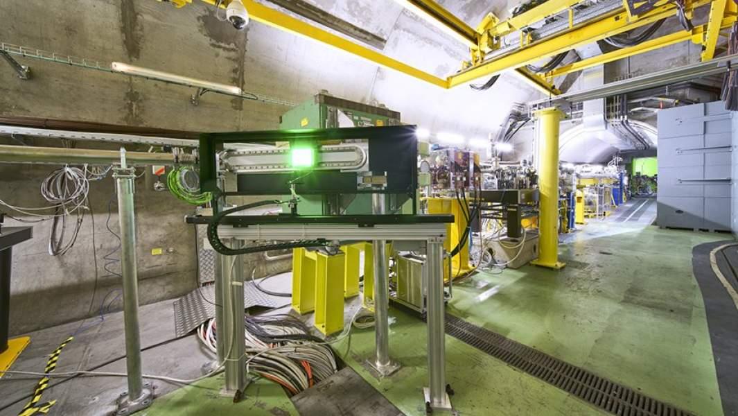 Ускоритель частиц в ЦЕРНе