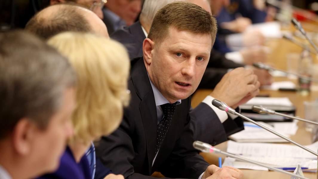 Председатель комитета Госдумы РФ по охране здоровья Сергей Фургал,2016 год
