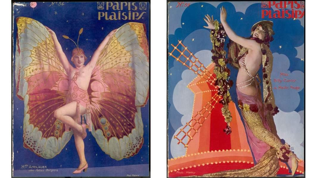 Рекламные постеры театра«Мулен Руж»