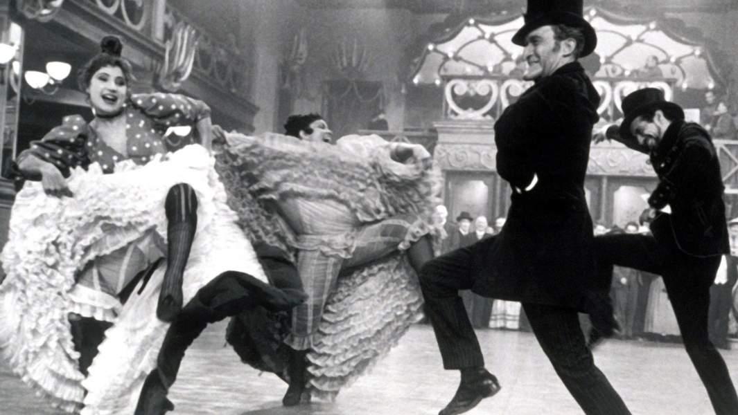 Кадр из фильма«Мулен Руж» (1959 г.)
