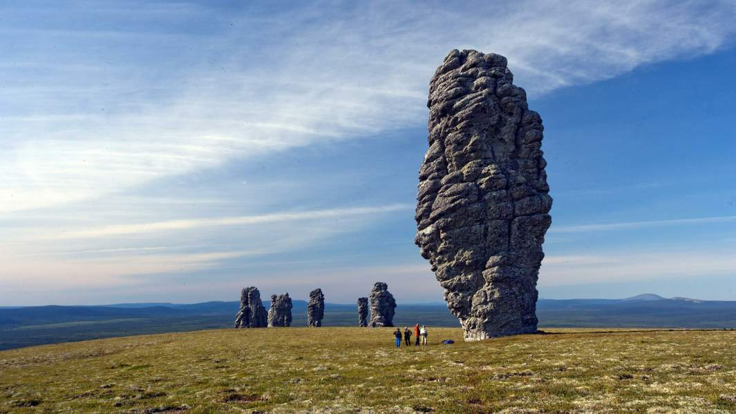 Маньпупунер, или Столбывыветривания (мансийские болваны) — геологический памятник в Троицко-Печорском районе Республики Коми России