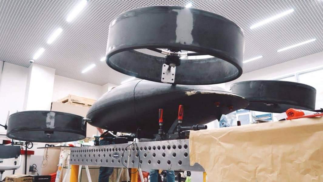 Модель беспилотного летательного аппарата «Бартини»