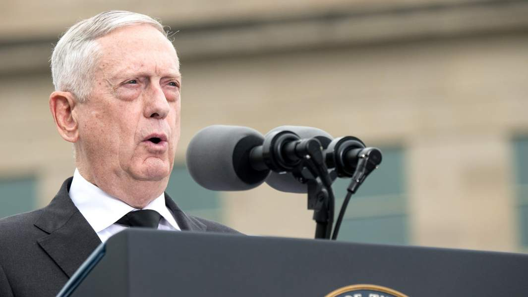 Министр обороны СШАДжеймс Мэттис