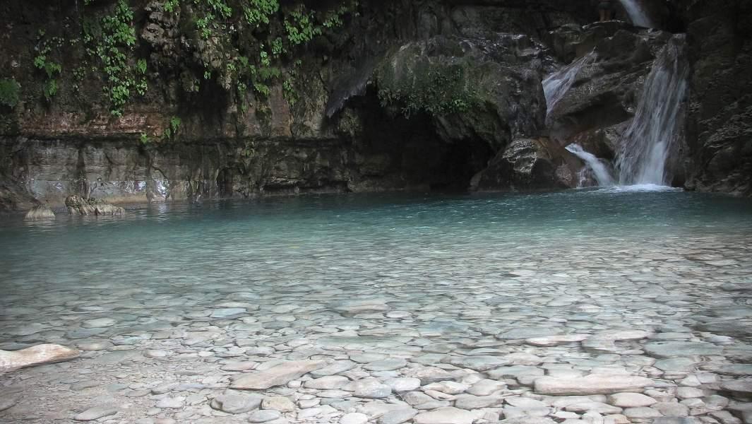 Водопад в каньоне реки Дамахагуа