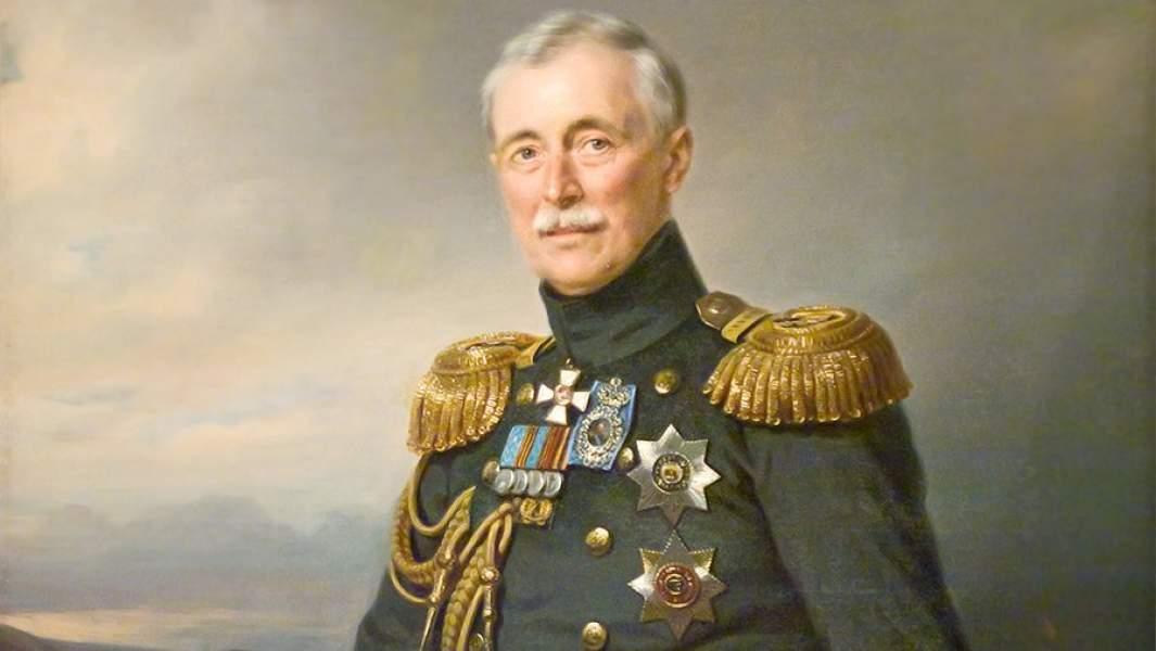 Адмирал Александр СергеевичМеньшиков