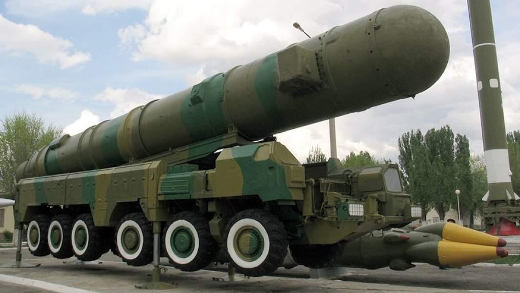 Ракетный комплекс «Пионер» в экспозиции музея ракетных войск в городе Знаменске