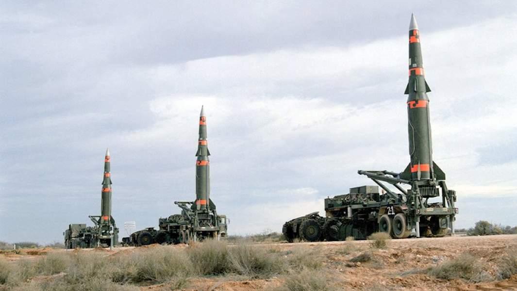 Американские ракеты средней дальности Pershing II