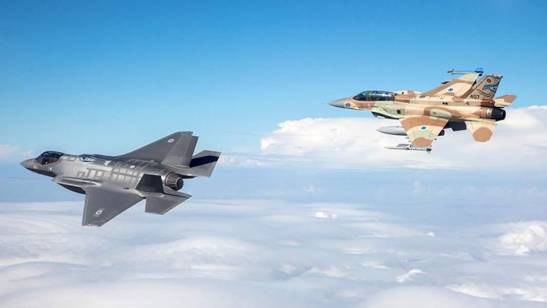 Истребители F-35 и F-16 американского производства в ВВС Израиля