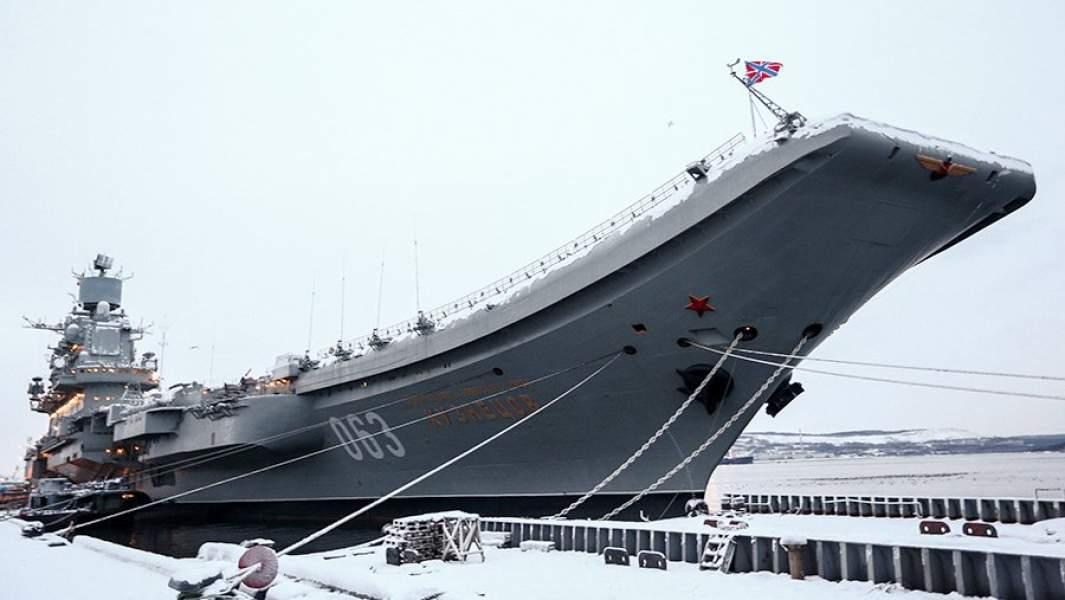 Тяжелый авианесущий крeйсер «Адмирал Кузнецов»