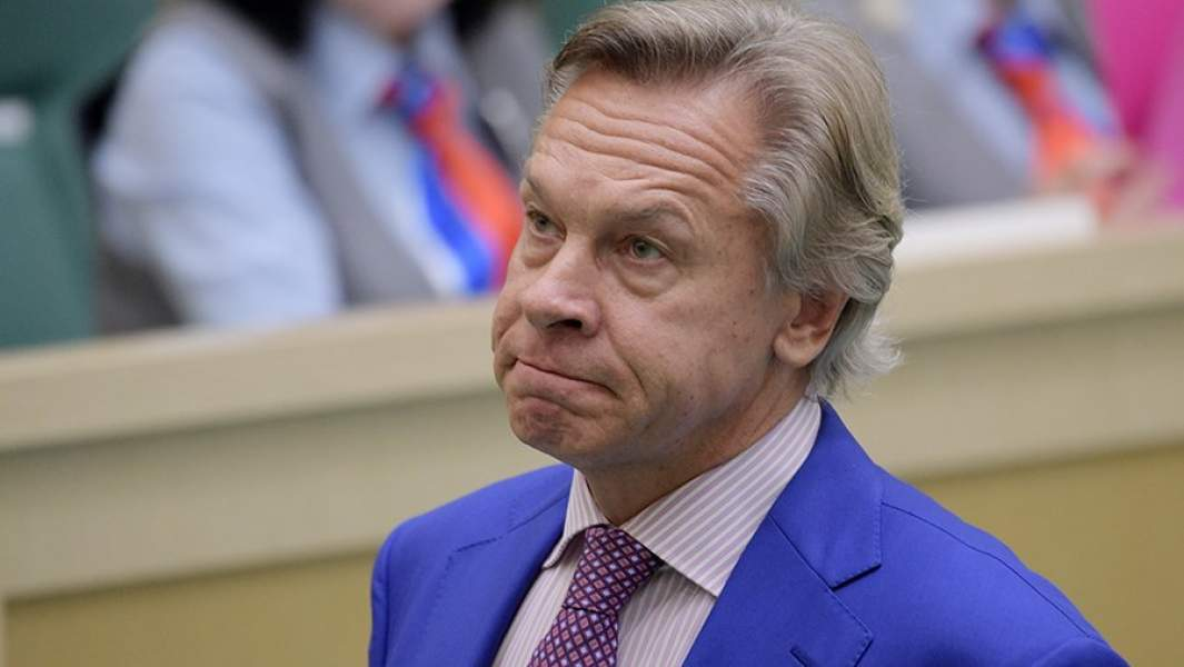 Член Совета Федерации Алексей Пушков